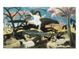 War or the Ride of Discord Print by Henri Rousseau
