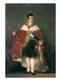 King Ferdinand VII with Royal Mantle Posters by Francisco de Goya