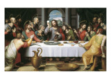 La última cena Lámina giclée por Juan Juanes