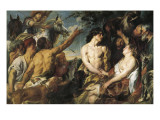 Meleager and Atalanta Prints by Jacob Jordaens