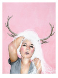 More Headaches Giclee Print by Charmaine Olivia