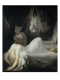 The Nightmare Premium Giclee Print by Henry Fuseli