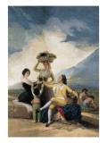 The Grape Harvest Posters by Francisco de Goya