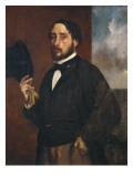 Self-Portrait Art by Edgar Degas