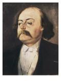 Gustave Flaubert Prints by Pierre François Eugène Giraud