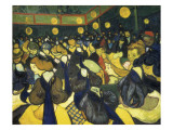 The Dance Hall at Arles (La Salle De Danse À Arles) Giclee Print by Vincent van Gogh