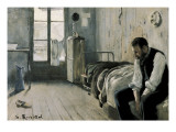 My Room in Paris Premium Giclee Print by Santiago Rusinol