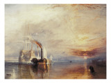 The Fighting Temeraire Giclee Print by William Turner