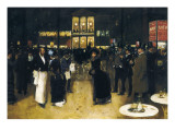 The Boulevard at Night, in Front of the Variety Theatre Giclee Print by Jean Beraud