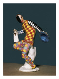 Harlequin (18th C) Giclee Print