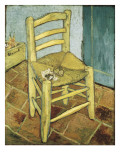 Van Gogh's Chair Prints by Vincent van Gogh