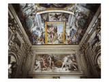 The Galleria Farnese Giclee Print by Agostino Carracci