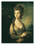 The Hon. Mrs. Thomas Graham Giclee Print by Thomas Gainsborough