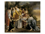 Moses Rescued from the Nile Giclee Print by Orazio Gentileschi