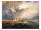 Quillebeuf, Mouth of the Seine Poster by J. M. W. Turner