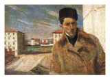 Self-Portrait Giclee Print by Umberto Boccioni