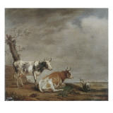 In the Meadow Giclee Print by Paulus Potter