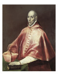Portrait of Cardinal Tavera Giclee Print by El Greco 