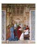 Sixtus IV Appoints Bartolomeo Platina Prefect of the Vatican Library Giclee Print