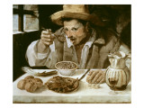 The Beaneater Giclee Print by Annibale Carracci