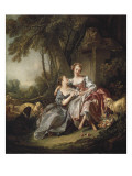 The Love Letter Giclee Print by Francois Boucher