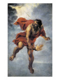 Pormetheus Carrying Fire Prints by Jan Cossiers