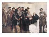 Lenin, Vladimir Ilich Ulyanov (1870-1924) Giclee Print