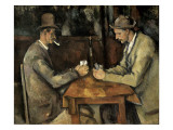 The Card Players (Les Joueurs De Cartes) Art by Paul Cézanne