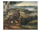 Landscape with St Giclee Print by Joachim Patenir