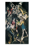 The Adoration of the Shepherds Premium Giclee Print by  El Greco