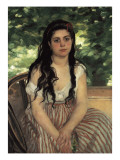 In Summer (Lise or the Gypsy) Giclee Print by Pierre-Auguste Renoir