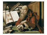 Saint Jerome in His Cell Giclee Print by Marinus Van Reymerswaele
