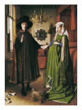The Arnolfini Portrait Posters by  Jan van Eyck
