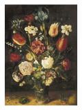 Vase of Flowers Posters by Jan Brueghel the Elder