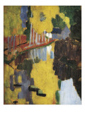 The Talisman, or the Swallow-Hole in the Bois D'Amour, Pont-Aven (Le Talisman) Premium Giclee Print by Paul Serusier