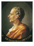 Portrait of Charles De Montesquieu Art