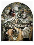 The Burial of Count Orgaz Giclee Print by  El Greco