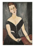 Portrait of Madame Georges Van Muyden Premium Giclee Print by Amedeo Modigliani