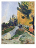 The Alyscamps, Arles Giclee Print by Paul Gauguin