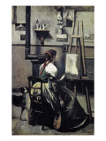 The Artist's Studio (L'Atelier De Corot) Giclee Print by Jean-Baptiste-Camille Corot