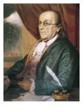 Franklin, Benjamin (1709-1790) Giclee Print