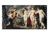 The Judgement of Paris Giclee Print by Peter Paul Rubens