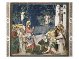 Scenes from the Life of Christ: 10 Print by  Giotto di Bondone