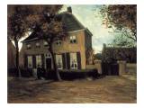 The Parish House in Nuenen Impresso gicle por Vincent van Gogh