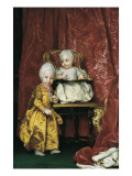Portrait of Archduke Ferdinand I and Archduchess Maria Carolina of Austria Prints by Anton Raphael Mengs