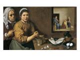 Christus in het huis van Marta en Maria Posters van Diego Velázquez