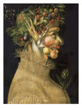 Summer, from a Series of the Four Seasons, Commissioned by Emperor Maximilian II (1527-76) 1573, Giclee Print