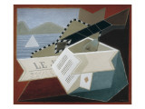 Guitar Facing the Sea Giclee Print by Juan Gris