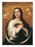 The Conception Posters by Bartolome Esteban Murillo