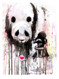 Will come to take sadness away Giclee Print by Lora Zombie